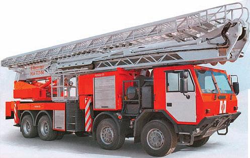 Базовые шасси пожарных и спасательных автомобилей